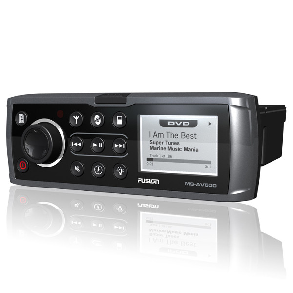 AV600G Odtwarzacz DVD z radiem AM/FM/iPod/MP3