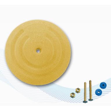 RA202 Płyta uziemiająca okrągła 128mm - powierzchnia czynna 1,7m2