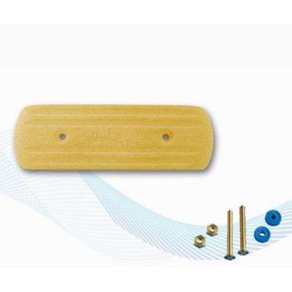 RA204 Płyta uziemiająca prostokątna 205x64mm - powierzchnia czynna 2m2