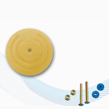 RA206 Płyta uziemiająca okrągła 55mm do zbiorników