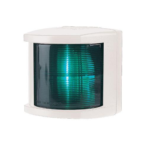 2LT 002 984-395 Lampa nawigacyjna serii 2984, PB zielona (biała obudowa)