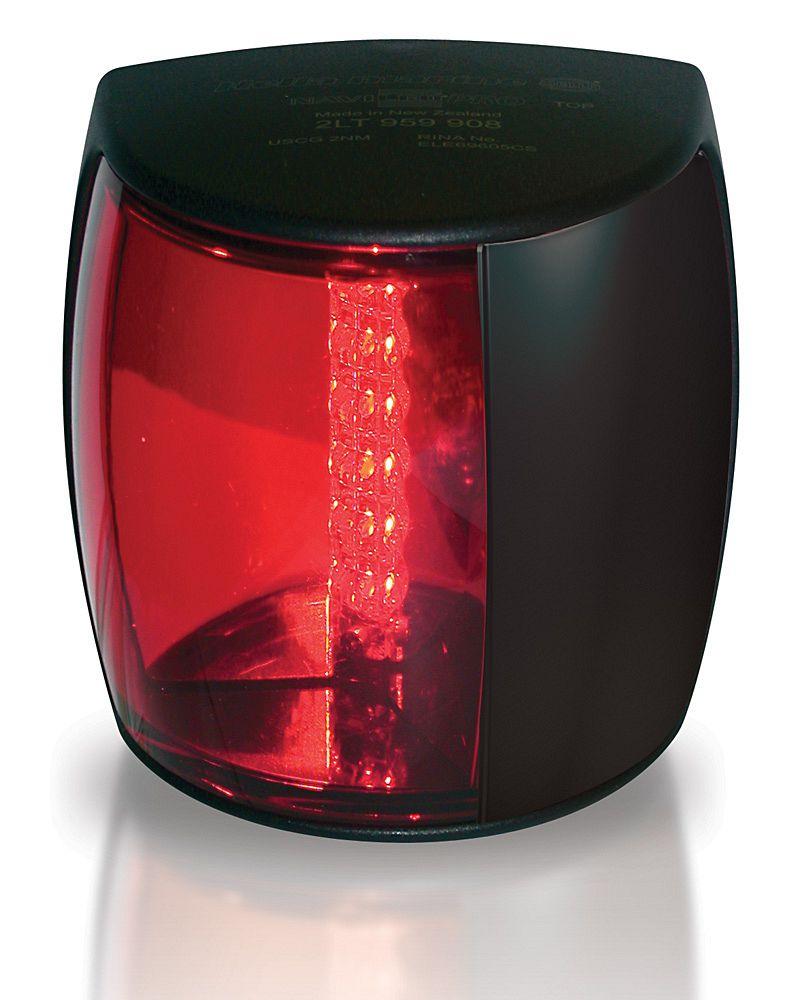 2LT 959 900-501 Lampa NaviLED LB czerwona (czarna obudowa) 2MM BSH