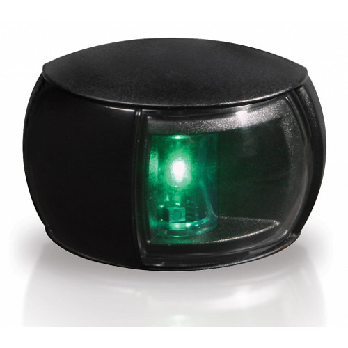 520-301 Lampa NaviLED PB zielona (czarna obudowa)