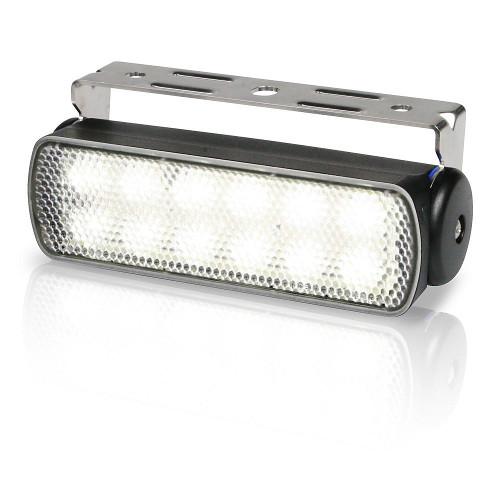 2LT 980 670-301 Lampa SeaHawk (12 LED) czarna obudowa (z uchwytem)