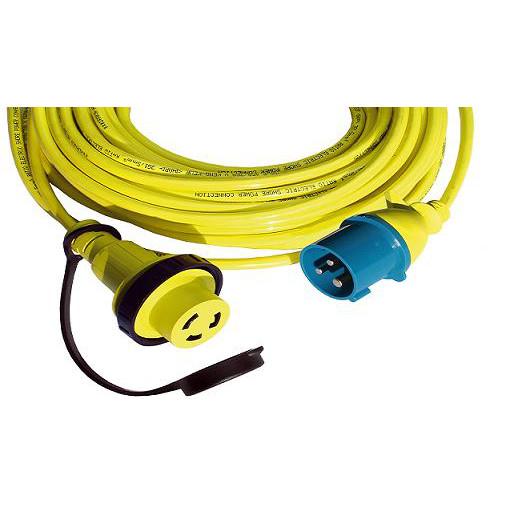 2812 Kabel zasilania z lądu do gniazd Marinco MPC16 3x2,5mm2 długość 25 metrów
