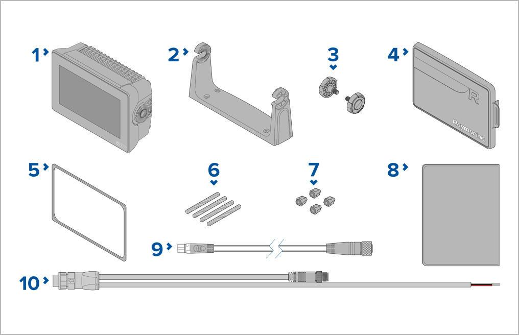 Axiom+ 7 - pudełko