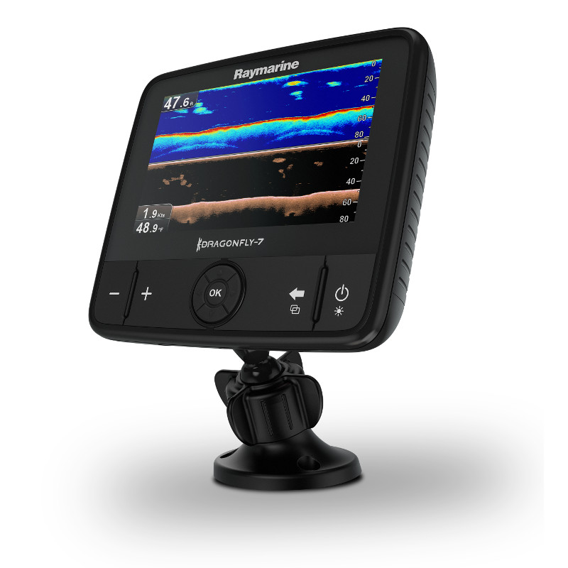 Dragonfly 7PRO Sonar CHIRP, DownVision, Wi-Fi, GPS, bez map