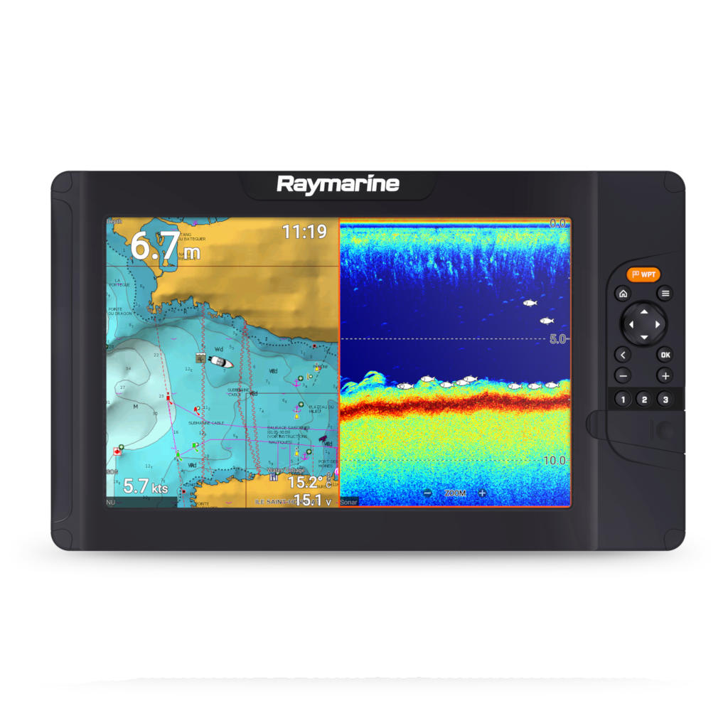 Element S 12''- Sonar CHIRP z ploterem map, Wi-Fi i GPS