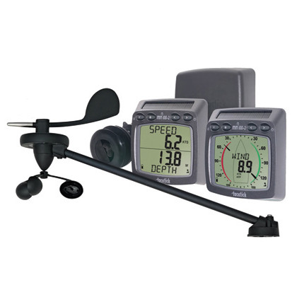 Wireless Wind, Speed & Depth System + Triducer - log/echo/wiatr