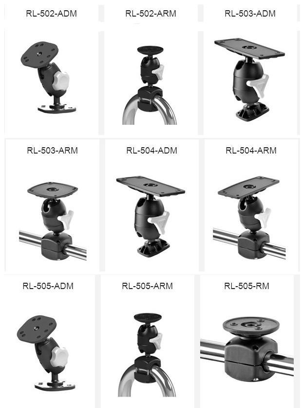 Przykładowe systemy mocowań Rokk