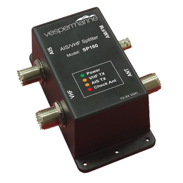 SP160 AIS / VHF / FM Splitter antenowy